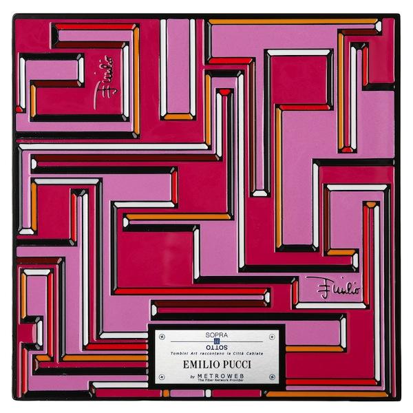 Emilio Pucci Manhole Covers by fashion designers Milan