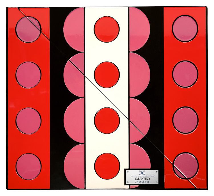 Valentino Manhole Covers by fashion designers Milan