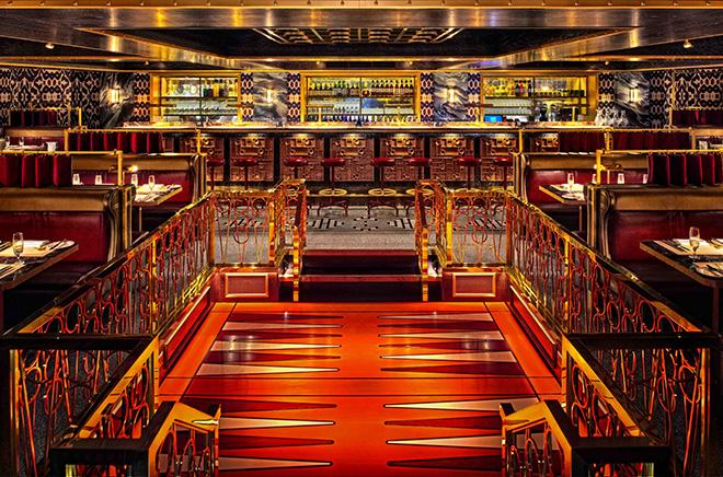 Spitbank fort hotel bar image