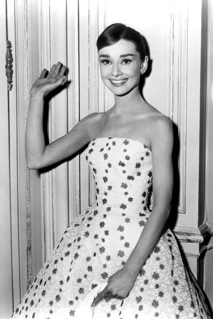 Audrey Hepburn Funny Face studio
