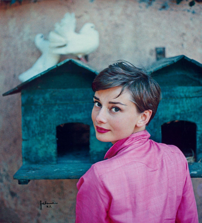 Audrey Hepburn by Philippe Halsman Portrait Gallery
