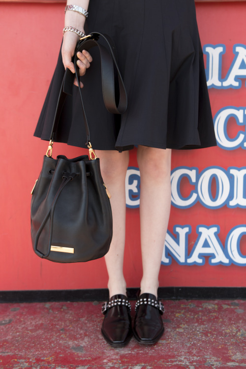Mark Jacobs bucket bag