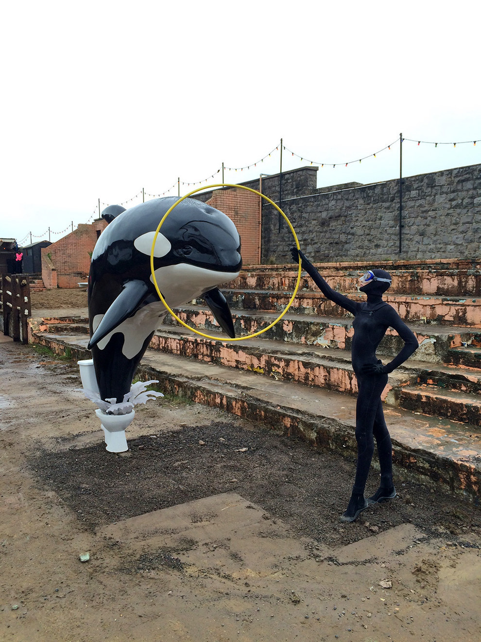 Dismaland. Photo by Christopher Jobson for Colossal
