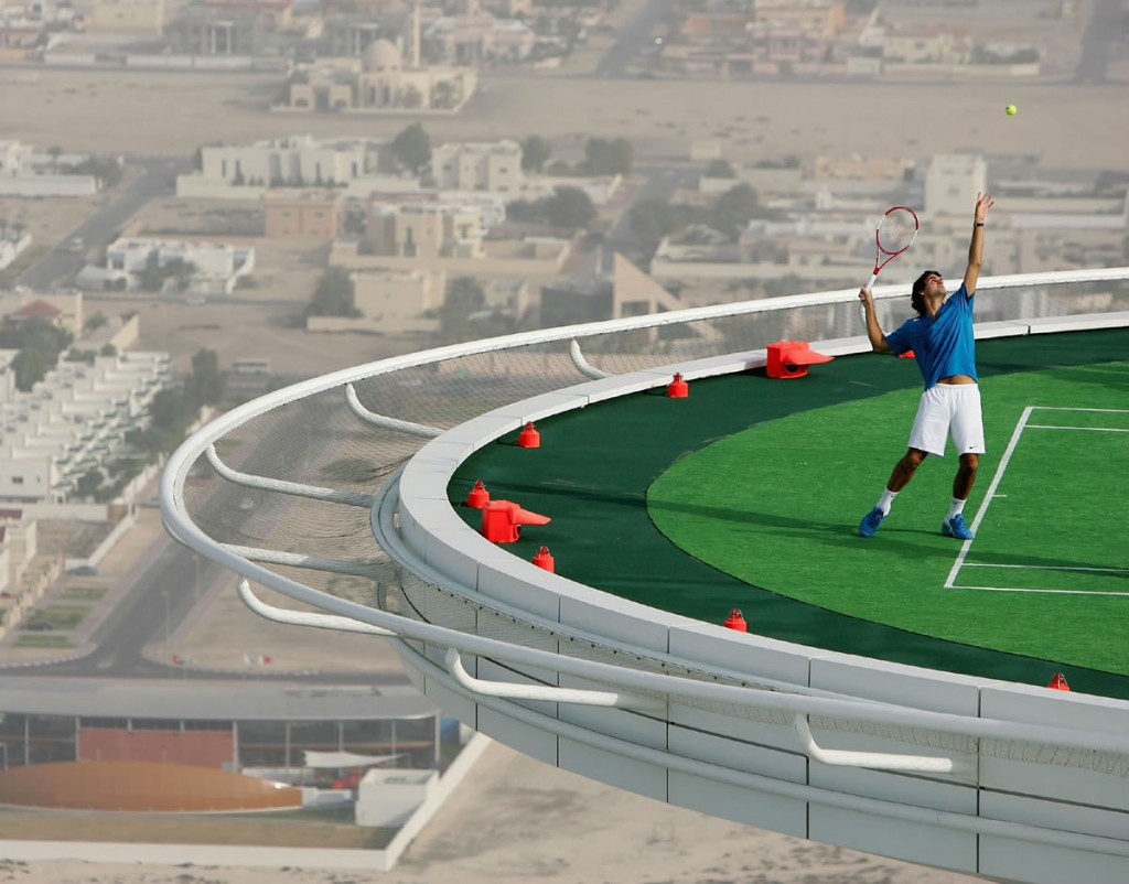 Tennis court Dubai