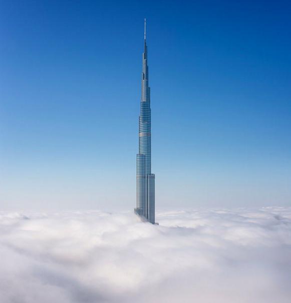 The Burj Khalifa Dubai