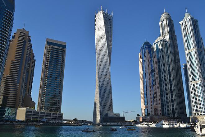 twisted tower Dubai