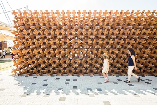Expo Milano 2015 Japan pavilion Darren Bradley