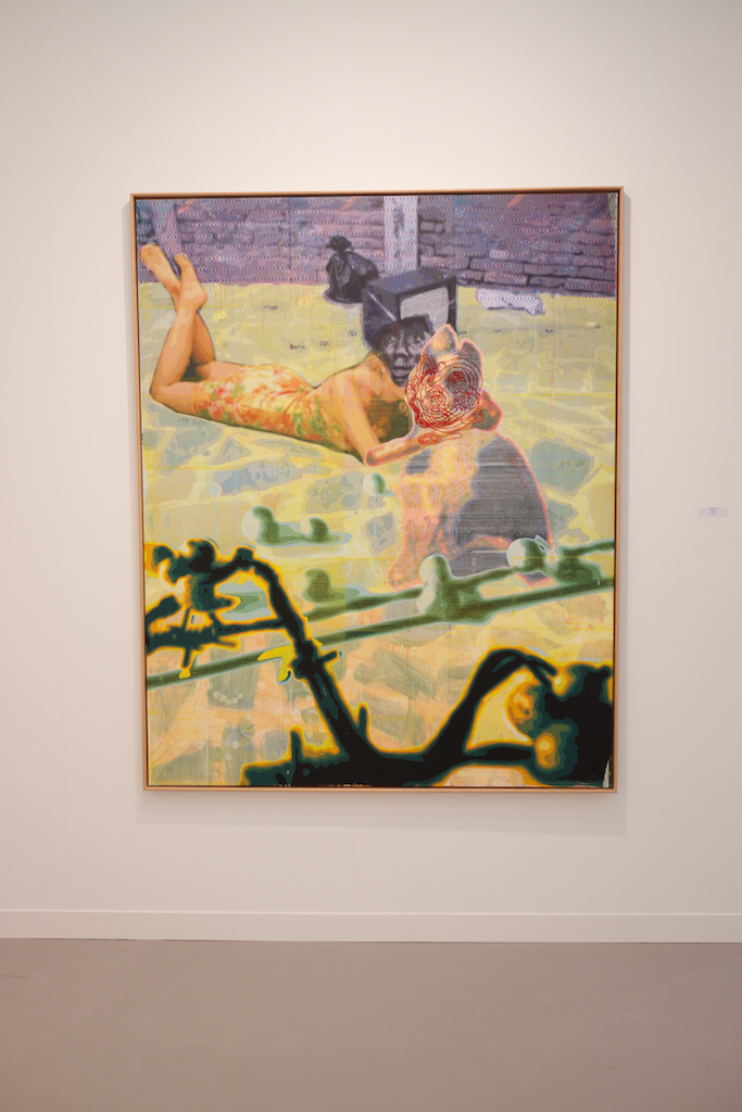 Untitled, Markus Oehlen, 2010. 200 x 160 cm. Oil on canvas