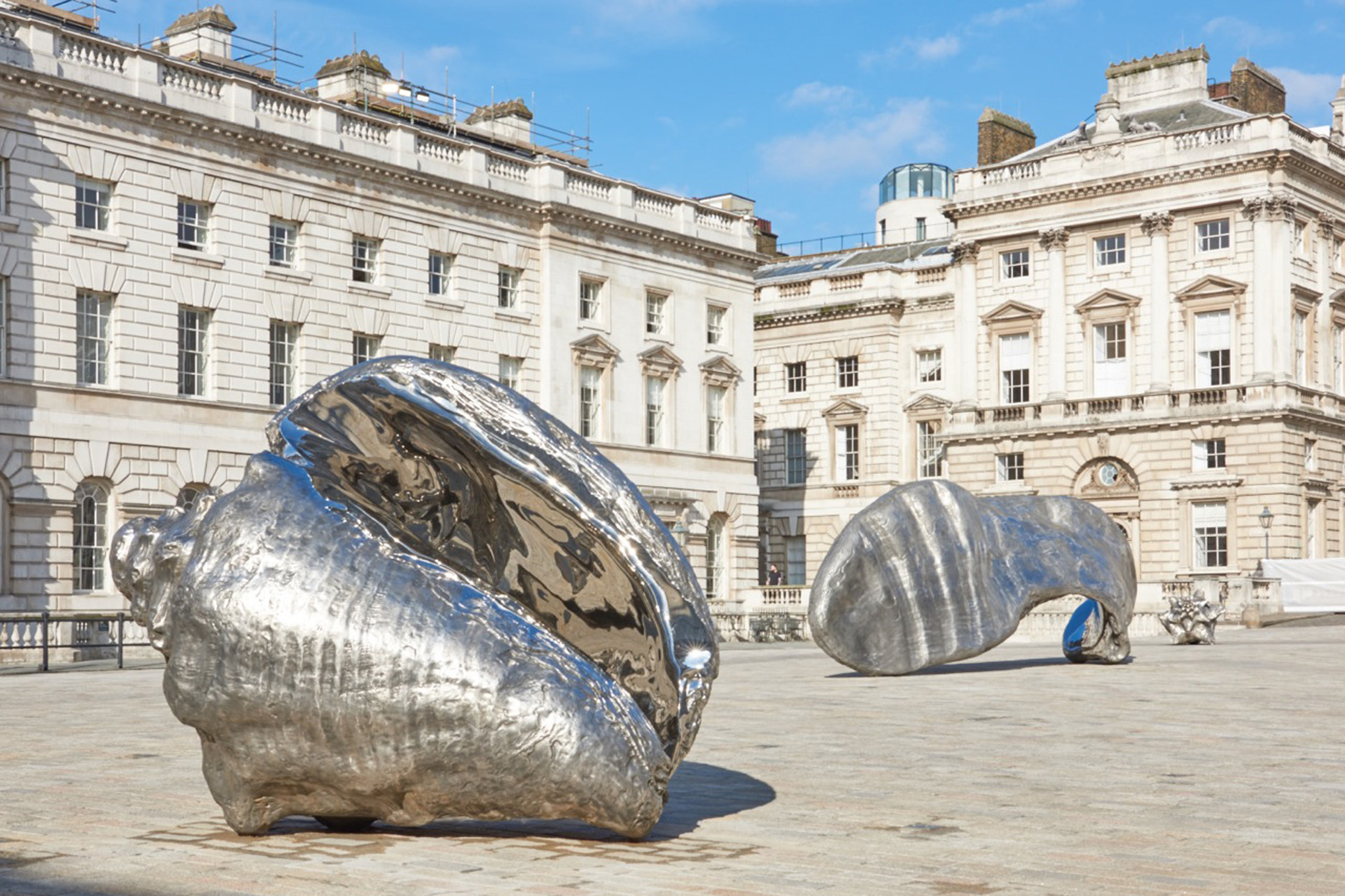 Marc Quinn Installation, Somerset House Courtyard Frieze Week 2015