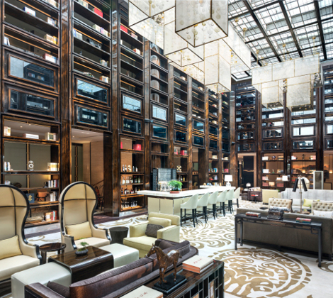 Grand Maison Luxury Collection Nanjing Hotel Library