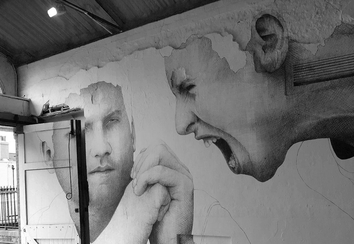 joe caslin Dublin murals