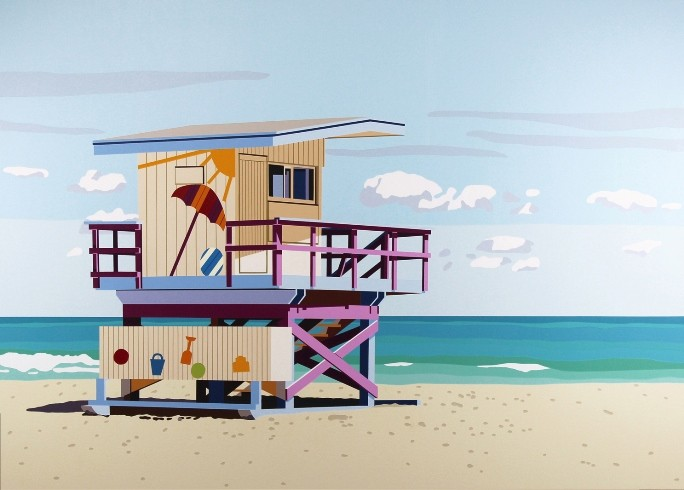 Miami Beach Hut II (2014), Will Martyr. TAG Fine Arts gallery