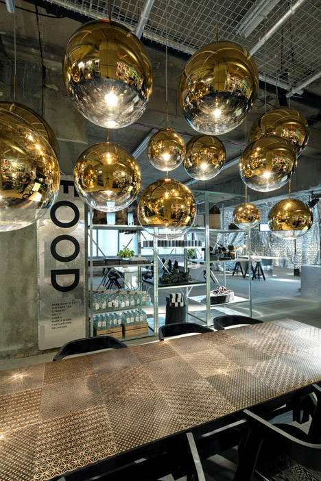 Tom Dixon Multiplex pop up store Old Selfridges Hotel London Design Festival
