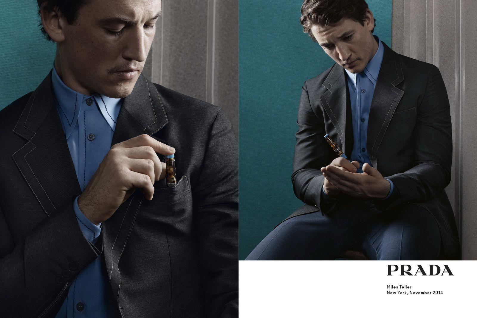 Prada men's spring 2015 Ad