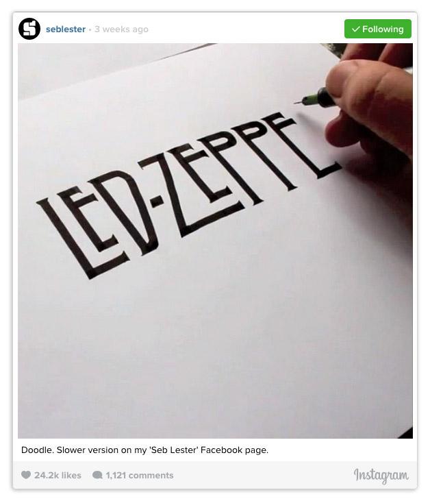 Seb Lester Led Zeppelin