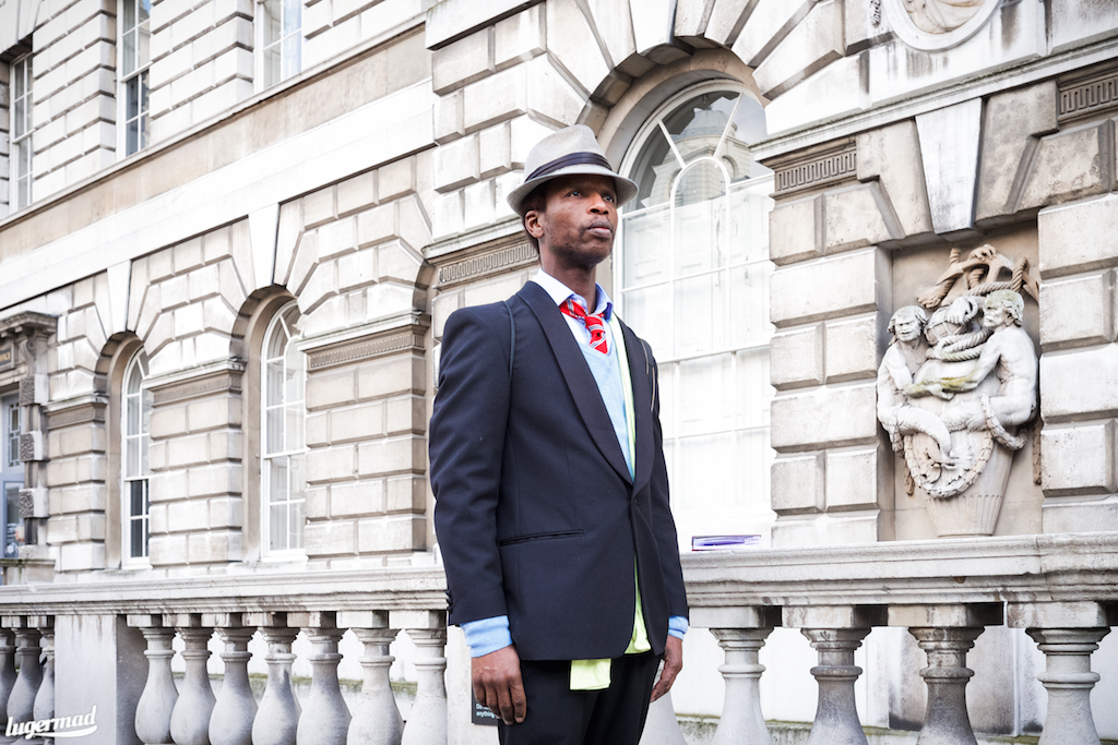 fashion week street style Zokaya Kamara