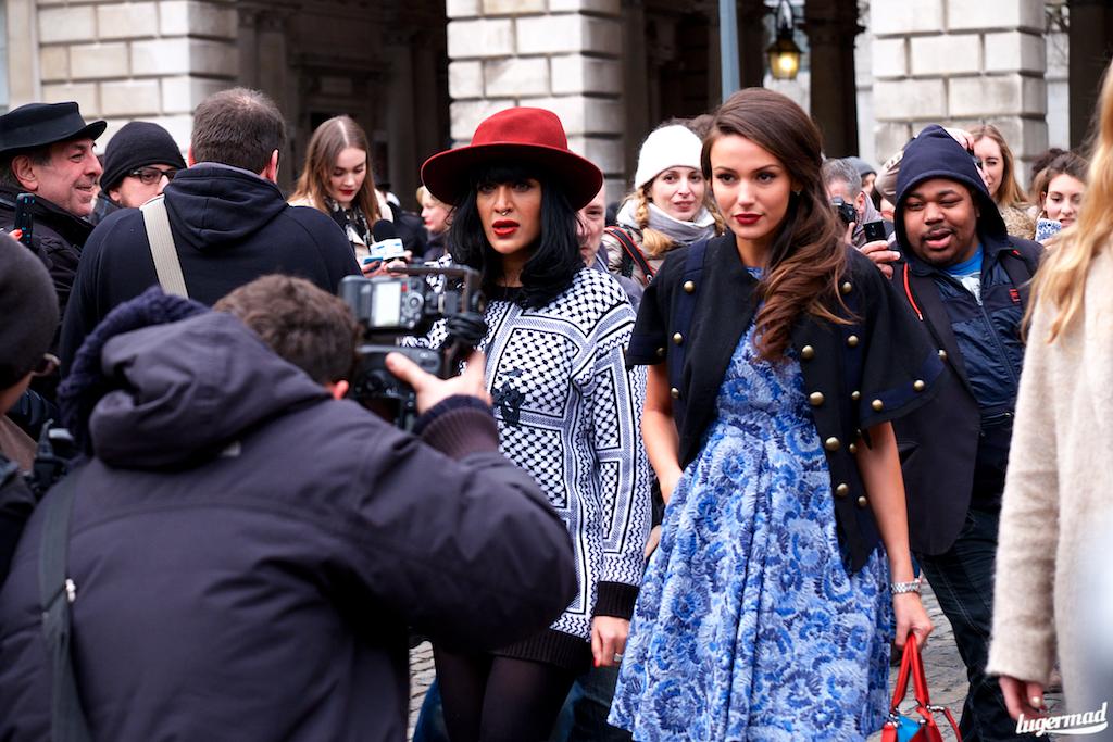London fashionweek streetsyle 2015 aw15