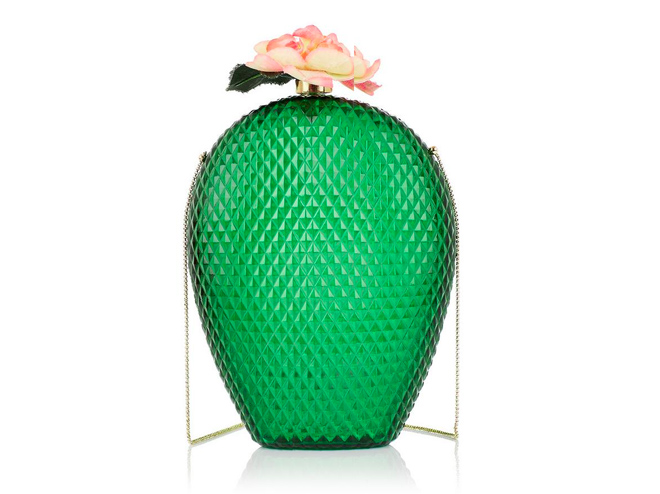 Cactus Clutch Charlotte Olympia