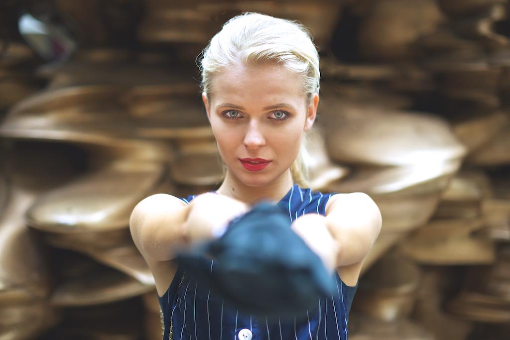 Ema Korabska, Model. London Fashion Week London ss16 Street photos