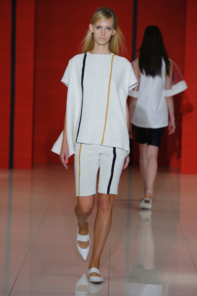 Lisa Perry Spring 2015 stripe trend