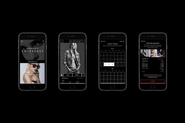 Swipecast app for models