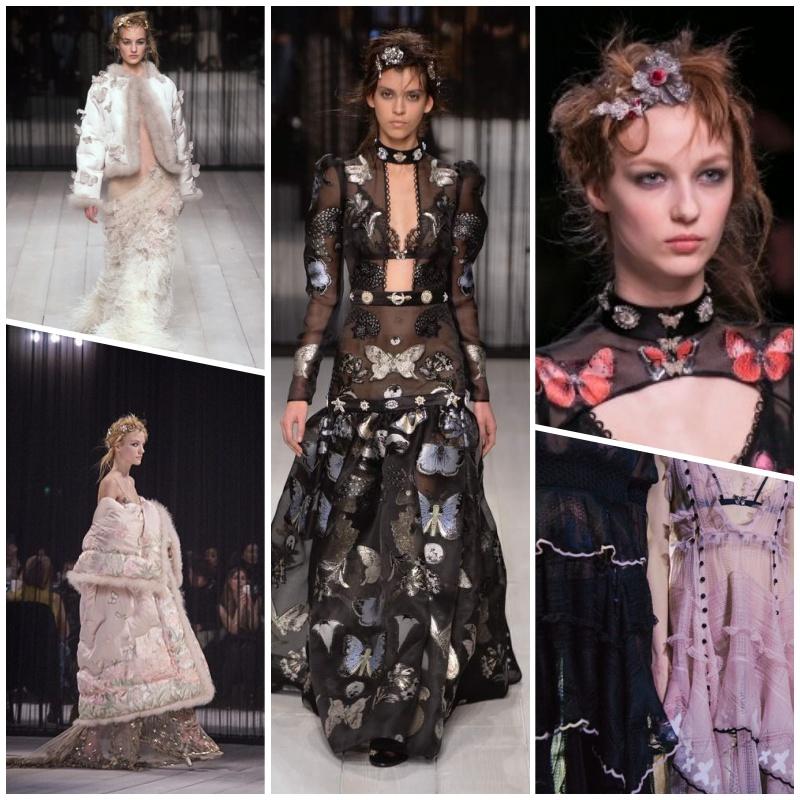 Alexander McQueen's grand return to London - London Fashion Week AW16