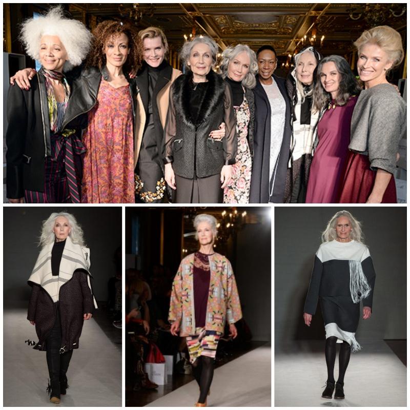 JD Williams over 50 catwalk - London Fashion Week AW16