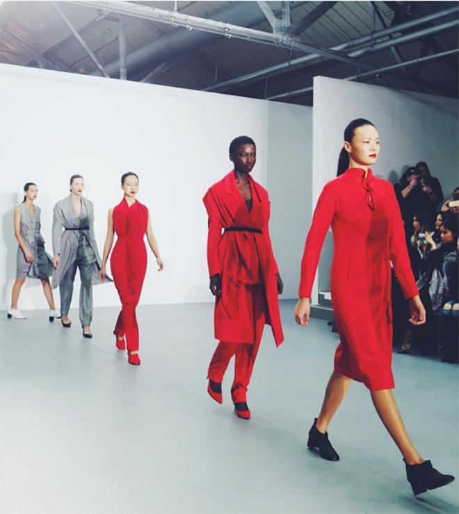 inthefrow London Fashion Week AW16