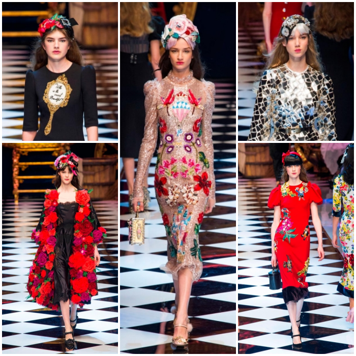 Dolce & Gabbana Milan fashion Week AW16
