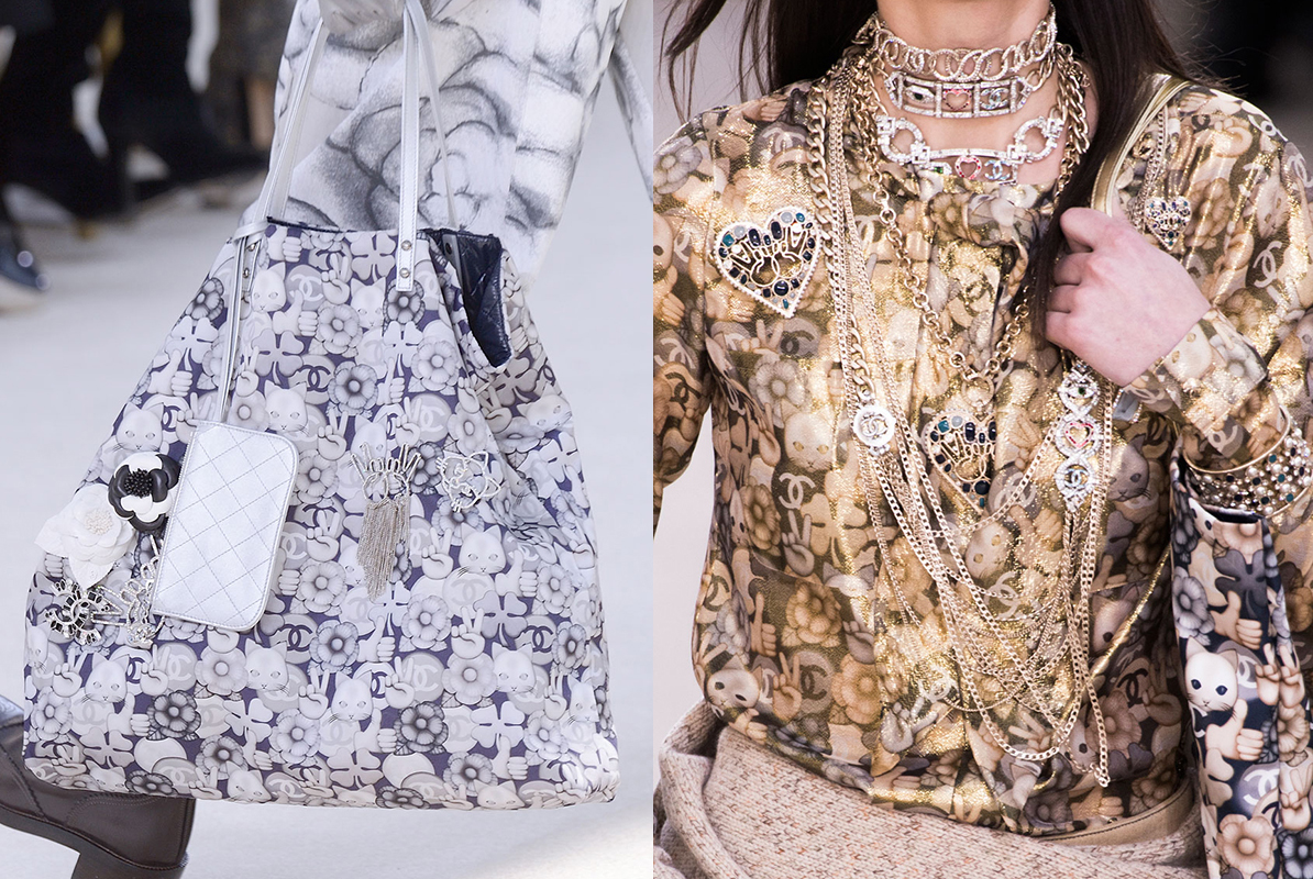 chanel cat patterns AW16