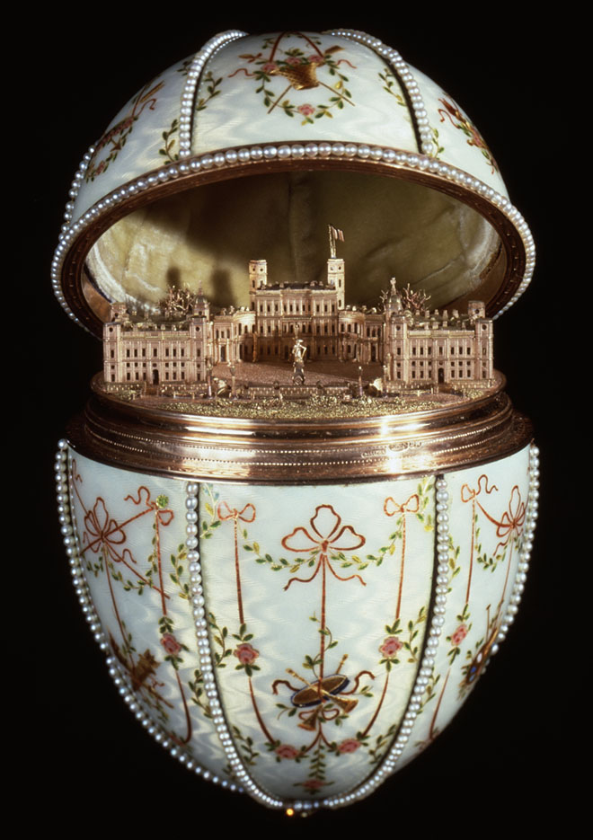 House of Faberge - Gatchina Palace Egg