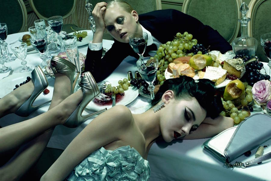 Dinner Party 3 by Miles Aldridge 2009 Atlas Gallery