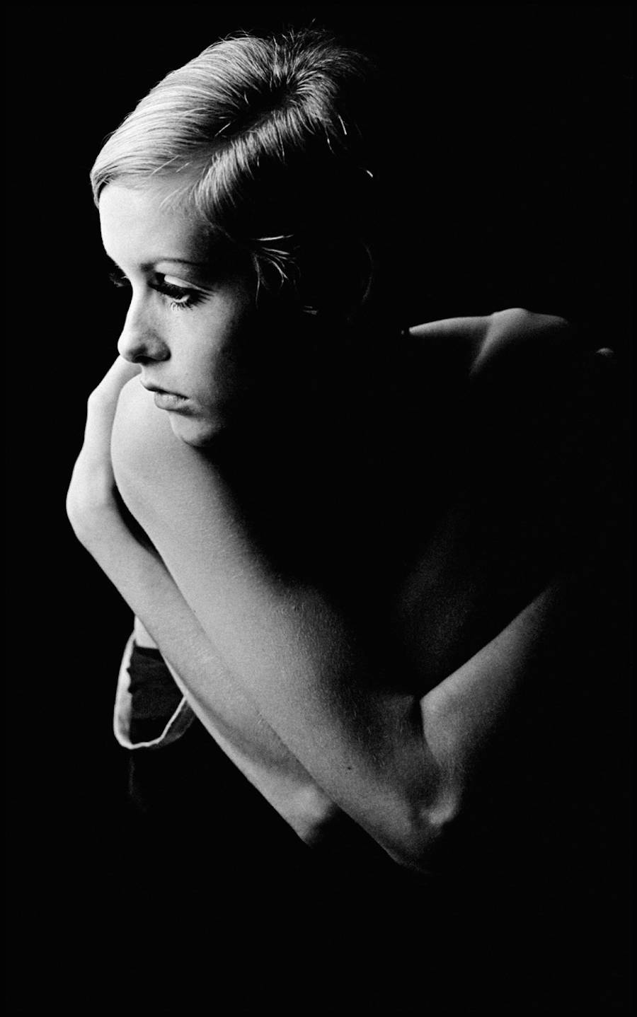 Twiggy by Burt Glinn London 1966