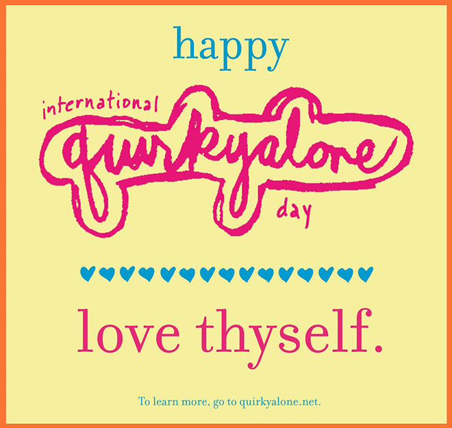 Quirkyalone Day