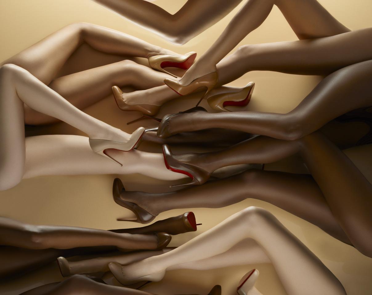 Christian Leboutin Nudes collection