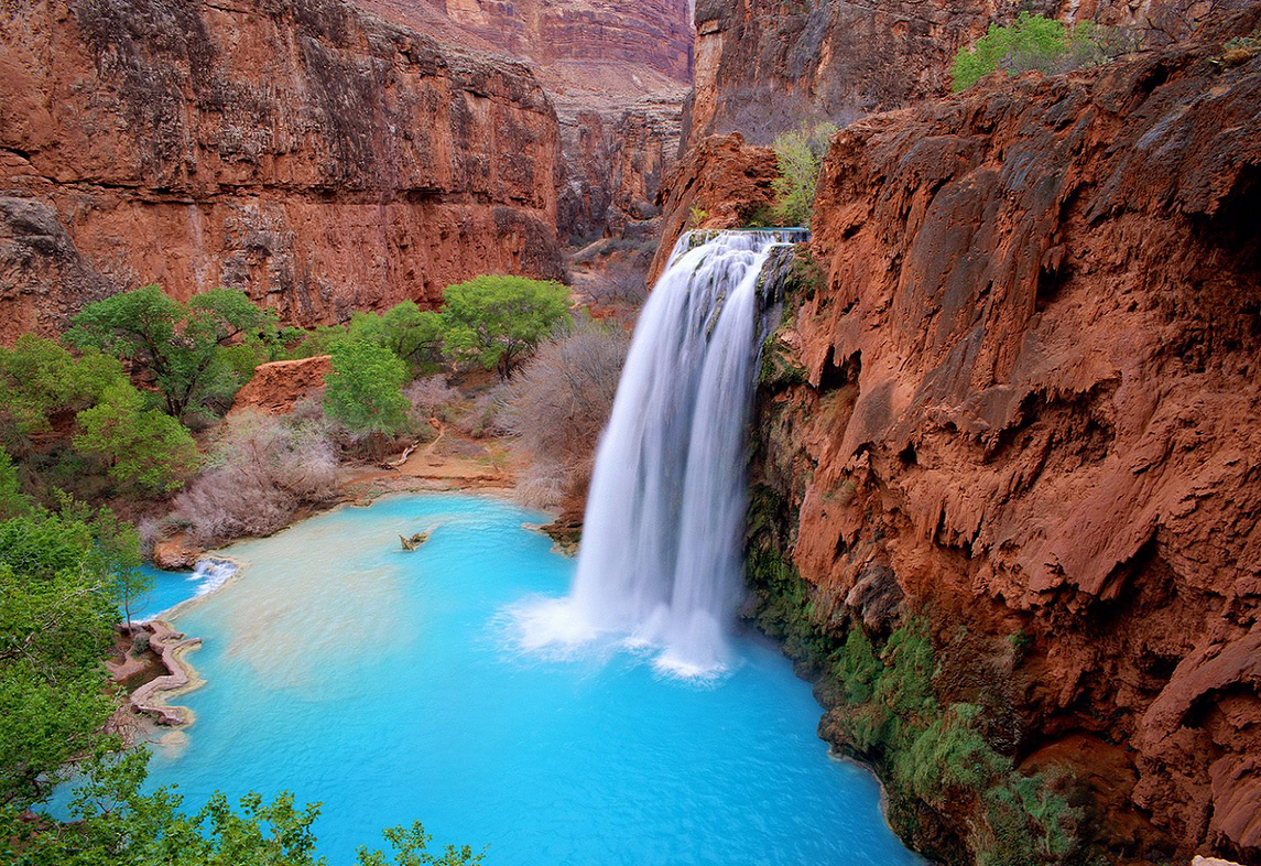 Havasu Falls Natural Pool