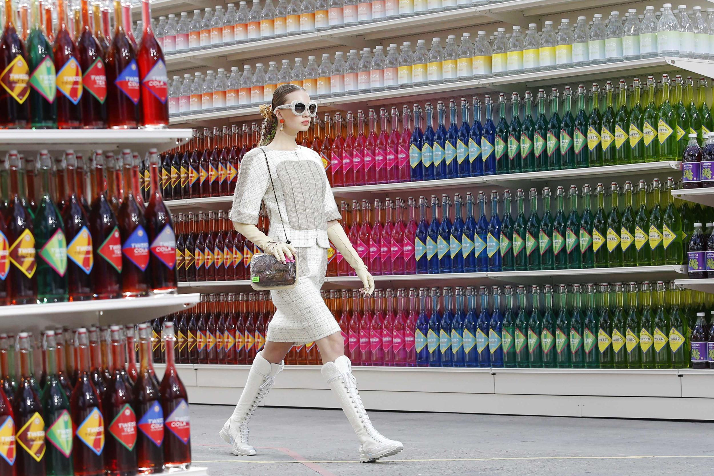 Chanel SS14. Le Grand Palais, Paris Fashion Week