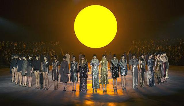 Marc Jacobs FW13 sun runway